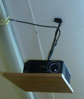 Подставка для проектора на стену своими руками